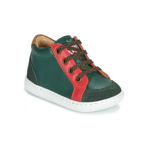 Shoo Pom BOUBA ZIP BOX boys's Children's Shoes (Trainers) in Green
