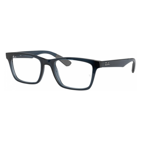 Ray-Ban Rb7025 Man Optical Lenses: Multicolor, Frame: Blue - RB7025 5719 53-17