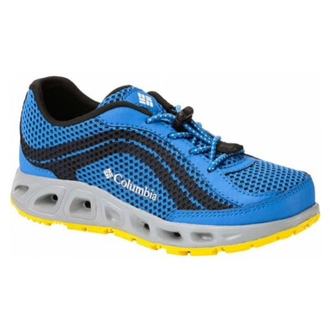 Columbia YOUTH DRAINMAKER IV blue - Children's outdoor shoes