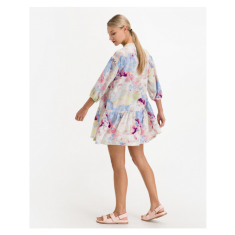 ICHI Cloudy Dress Colorful