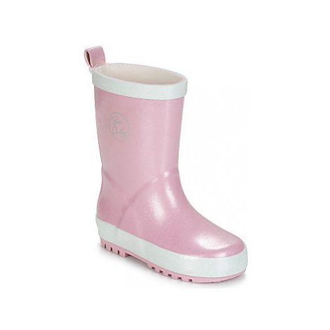 Be Only ONDINE girls's Children's Wellington Boots in Pink
