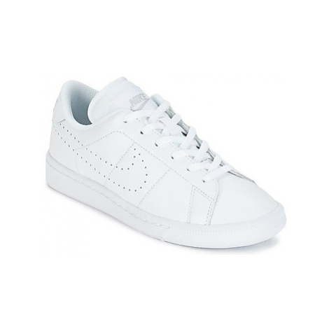 Nike TENNIS CLASSIC PREMIUM JUNIOR girls's Children's Shoes (Trainers) in White