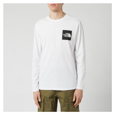 The North Face Men's Long Sleeve Fine T-Shirt - TNF White