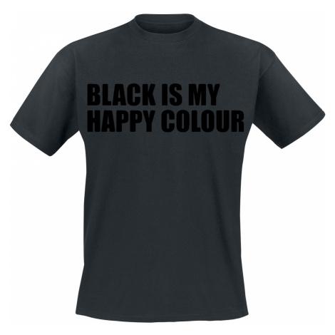 Black Is My Happy Colour - - T-Shirt - black