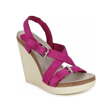 Jil Sander JS16295 women's Sandals in Pink