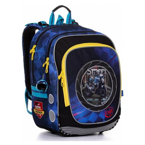 backpack Topgal ENDY 20013 - B/Blue - boy´s