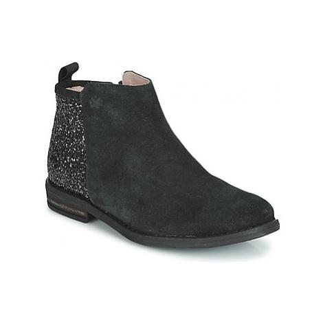 Acebo's 8035-NEGRO girls's Children's Mid Boots in Black
