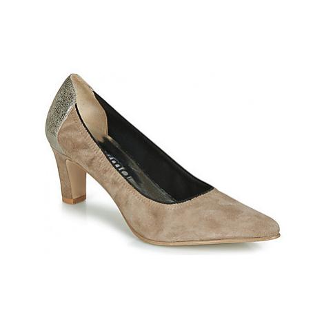 Myma ELEGANCY women's Court Shoes in Beige