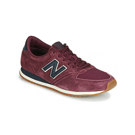 New Balance 420 women's Shoes (Trainers) in Bordeaux