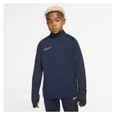 Nike Dri-FIT Academy Older Kids' Football Drill Top - Blue
