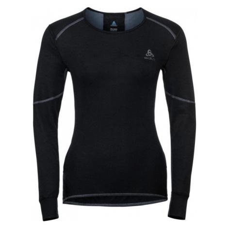 Odlo BL TOP CREW NECK L/S ACTIVE X-WARM black - Women's T-shirt