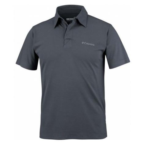Columbia SUN RIDGE POLO gray - Men's polo shirt