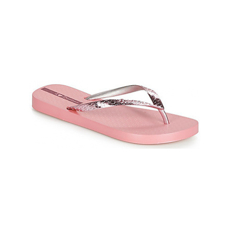 Ipanema GLAM women's Flip flops / Sandals (Shoes) in Pink