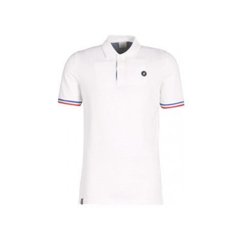 Jack Jones JORSTAN men's Polo shirt in White Jack & Jones
