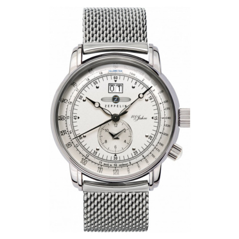 Mens Zeppelin 100 Jahre Watch 7640M-1