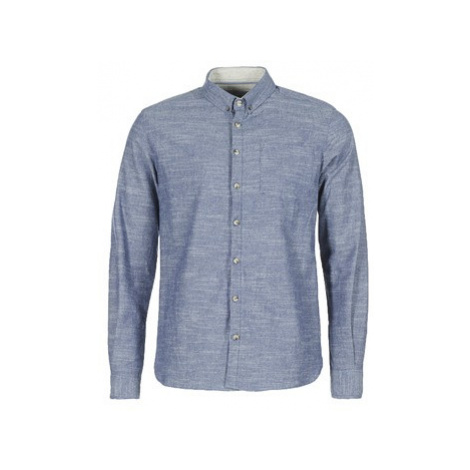 Casual Attitude IPODRUM men's Long sleeved Shirt in Blue