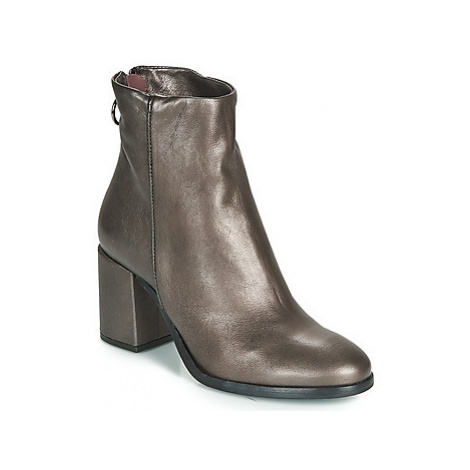 Mjus TWISTER women's Low Ankle Boots in Grey