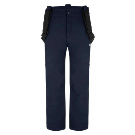 Loap LOCON black - Children's softshell trousers