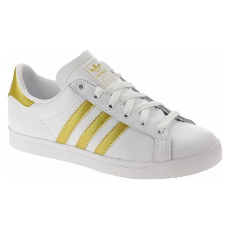shoes adidas Originals Coast Star - Cloud White/Gold Mettalic/Core Black - women´s