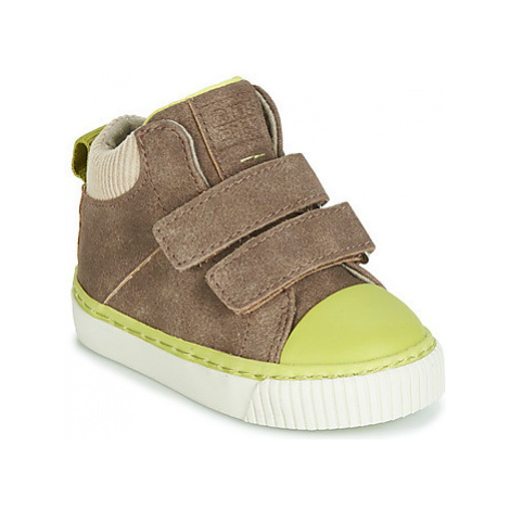 Gioseppo ERDING boys's Children's Shoes (High-top Trainers) in Brown