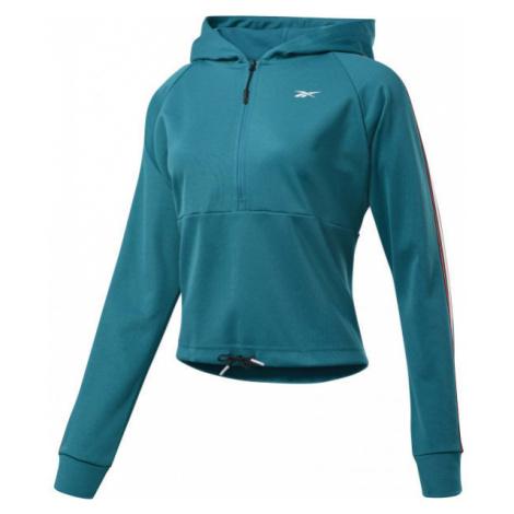 Reebok WOR Quarter Zip green - Women's sweatshirt