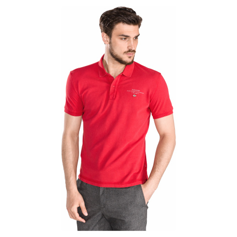 Napapijri Elabas 2 Polo shirt Red