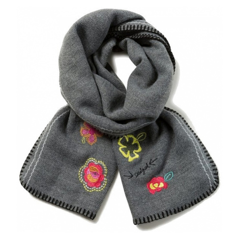 shawl Desigual 17WAWK26/Wow - 2014/Dark Gray