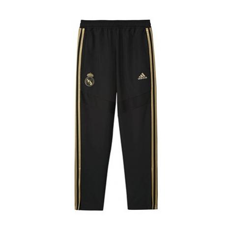 Real Madrid Training Woven Pants - Black - Kids Adidas