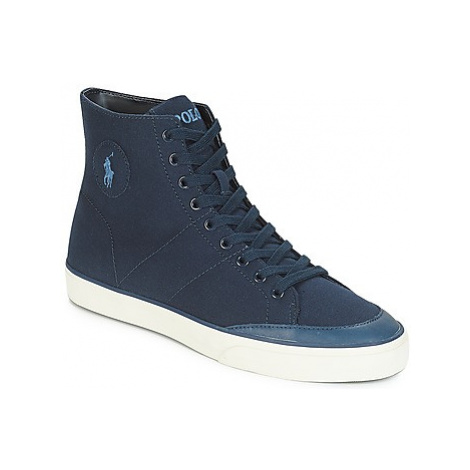 Polo Ralph Lauren SOLOMON men's Shoes (High-top Trainers) in Blue