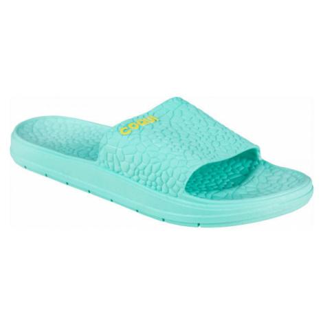 Coqui RUNE green - Women's slippers