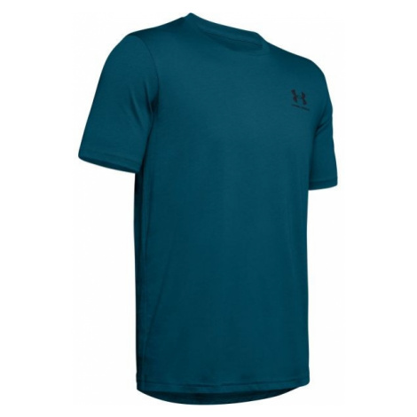 Under Armour SPORTSTYLE LEFT CHEST SS blue - Men's T-shirt