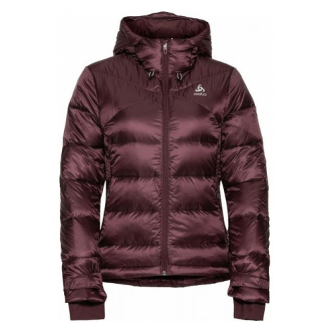 Odlo JACKET INSULATED COCOON N-THERMIC X-WARM brown - Women's jacket