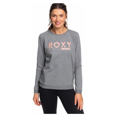 sweatshirt Roxy Redblood Sunset - KTE1/Charcoal Heather - women´s