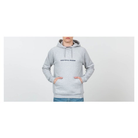 Norse Projects Ketel GFAS Hoodie Light Grey Melange