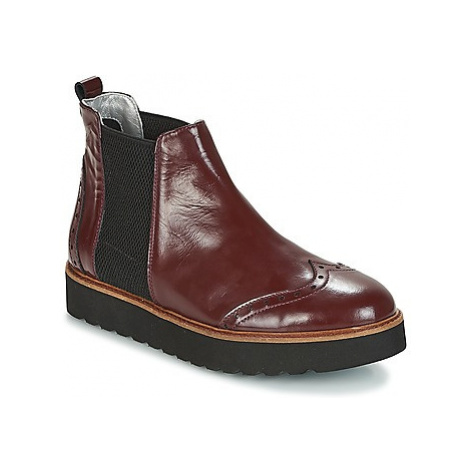 Ippon Vintage HUNTER THICK women's Mid Boots in Bordeaux