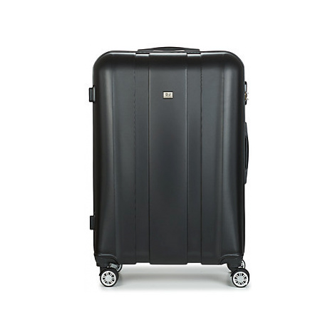 David Jones CHAUVETTO 107L men's Hard Suitcase in Black