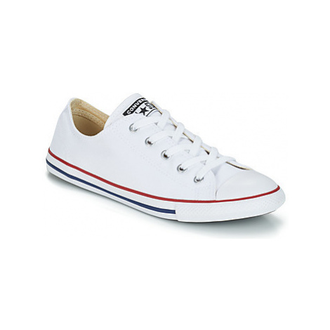 Converse ALL STAR DAINTY CANVAS OX women's Shoes (Trainers) in White
