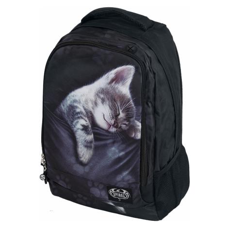 Spiral - Pocket Kitten - Backpack - black