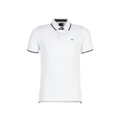 Jack Jones JJEPAULOS men's Polo shirt in White Jack & Jones