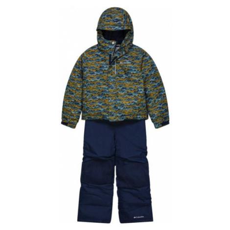 Columbia BUGA™ SNOW SET blue - Kids' winter set