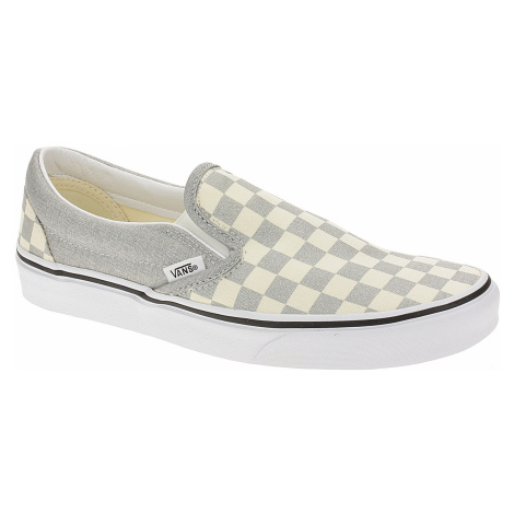 shoes Vans Classic Slip-On - Checkerboard/Silver/True White