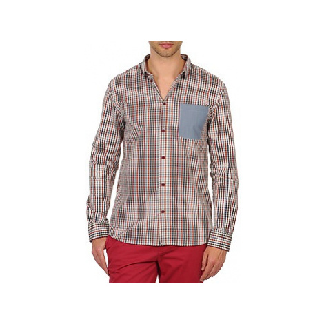 Eleven Paris ELCIELO men's Long sleeved Shirt in Multicolour