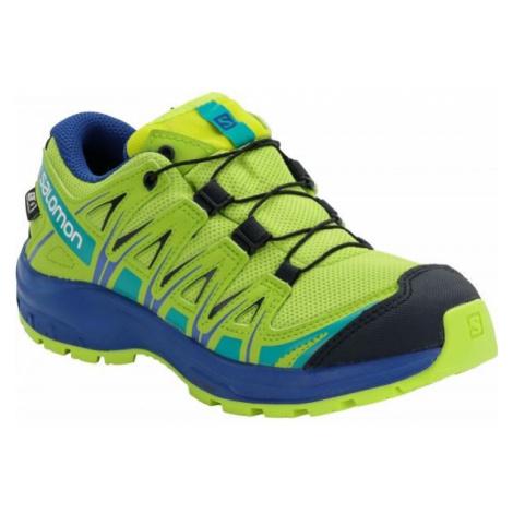 Salomon XA PRO 3D CSWP J yellow - Kids' running shoes