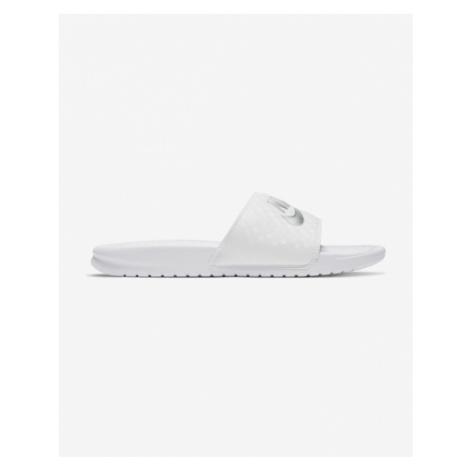 Nike Benassi JDI Slippers White