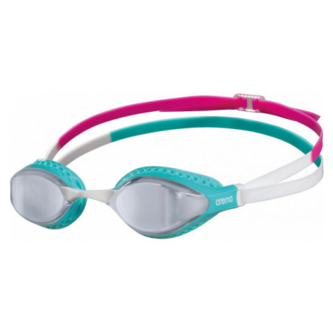 Arena AIRSPEED MIRROR green - Swimming goggles