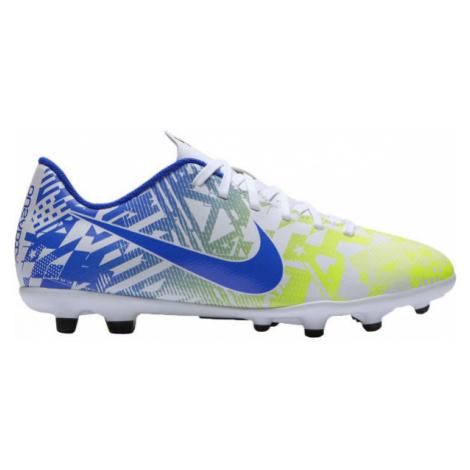 Nike JR MERCURIAL VAPOR 13 CLUB NJR FG/MG yellow - Kids' football shoes