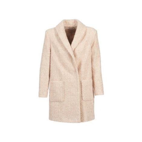 Naf Naf APPLE women's Coat in Beige