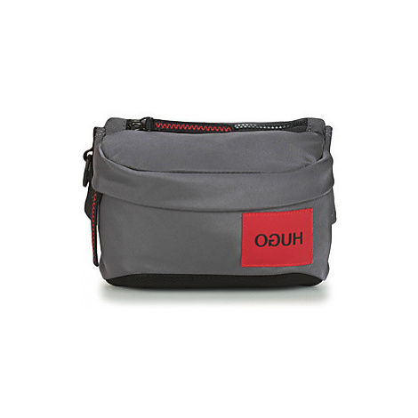 HUGO KOMBINAT BUBAG MINI men's Hip bag in Grey Hugo Boss