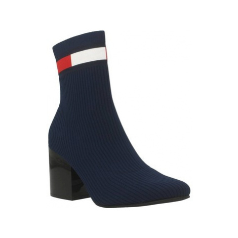 Tommy Jeans EN0EN00699 women's Low Ankle Boots in Blue Tommy Hilfiger