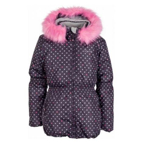 Lewro PAOLA brown - Kids' winter jacket